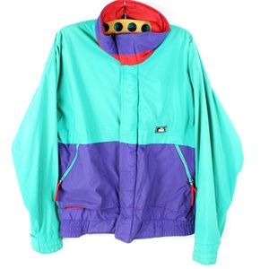 Vintage Woolrich Color Block Soft Shell Jacket